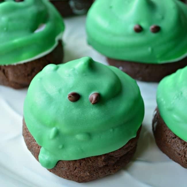 Slimeball Hi Hat Halloween Cookies