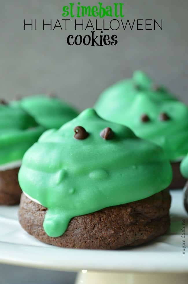 Slimeball Hi Hat Halloween Cookies