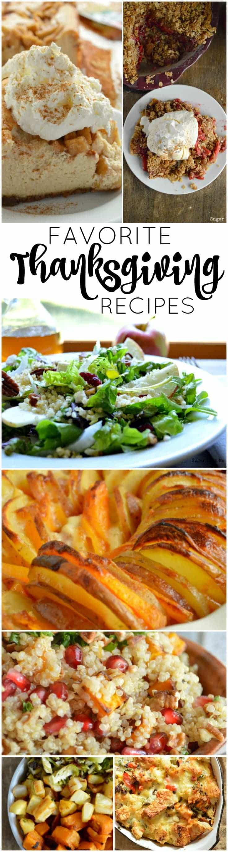 My Favorite Thanksgiving Recipes! All the good stuff from salad to dessert and everything in between!