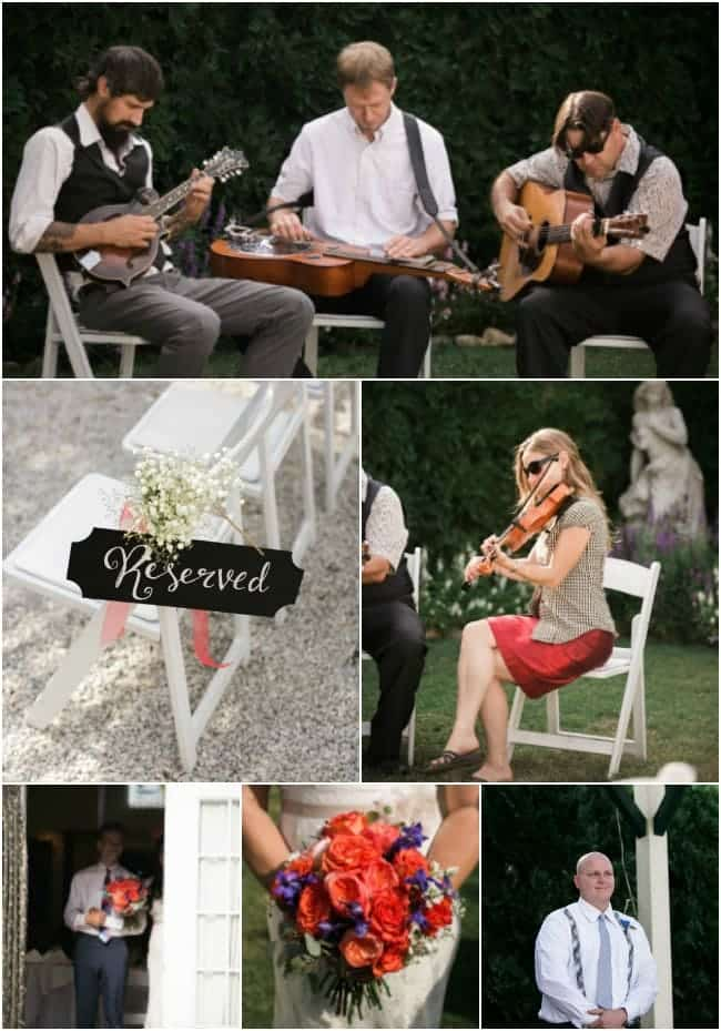 Lake Lure Inn Garden Wedding