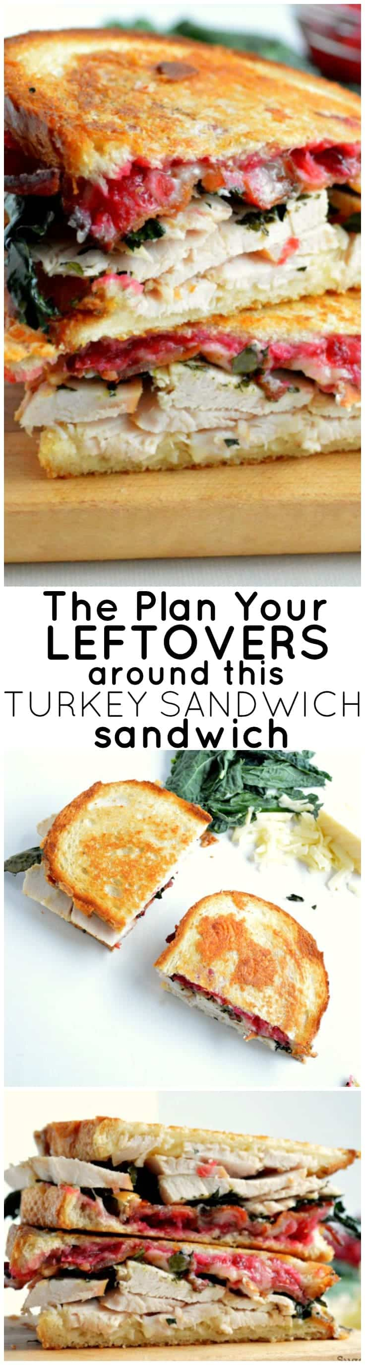 You will ABSOLUTELY want to plan your leftovers around this turkey sandwich!