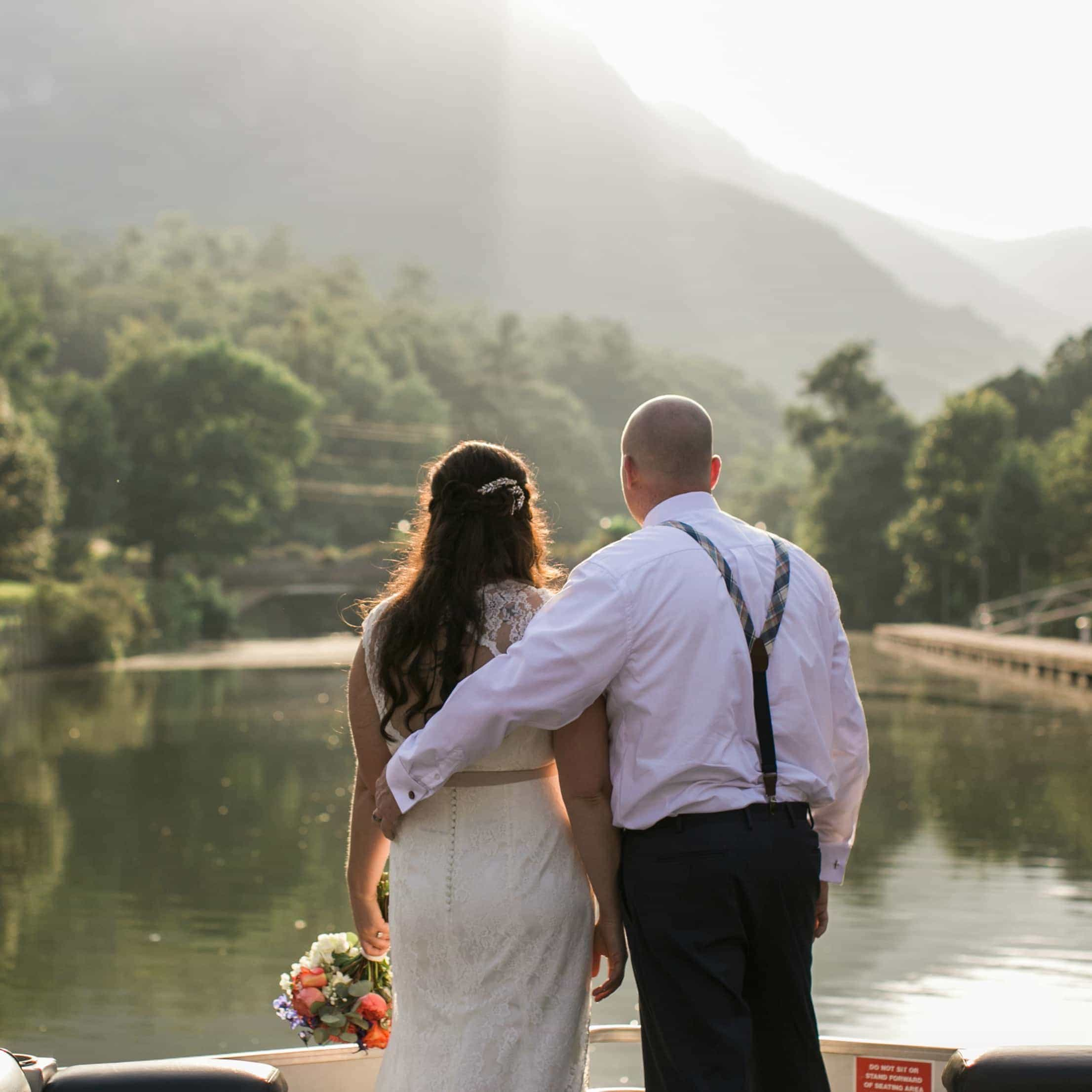 Lake Lure Inn Wedding