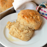 Apple Biscuits with Honey Butter
