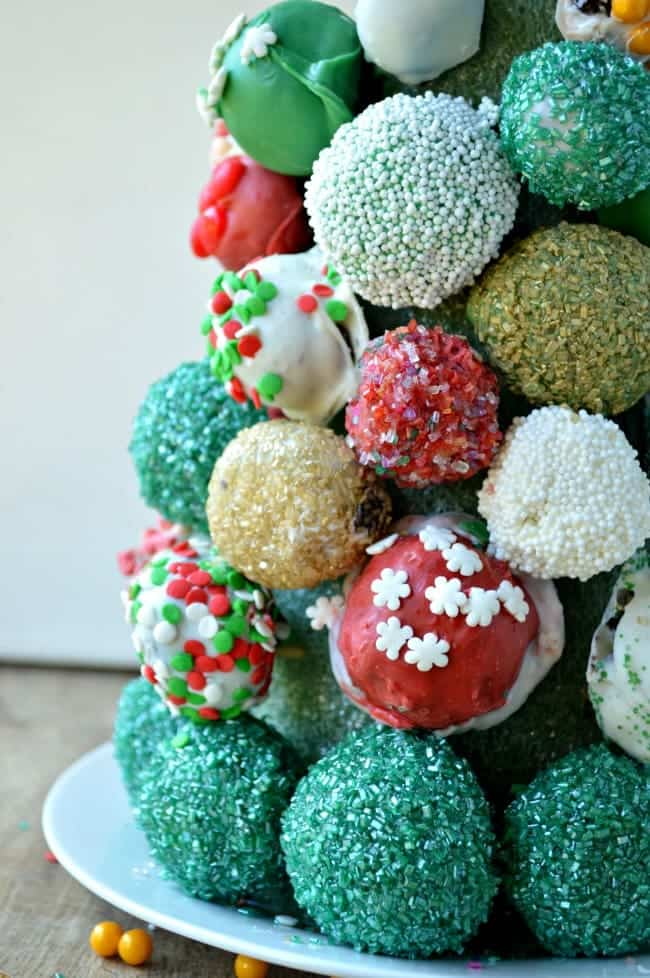 Oreo Cookie Ball Tree