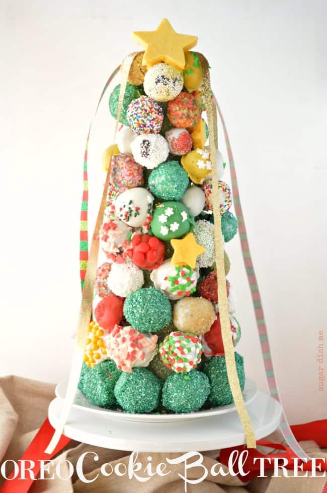 How to make an Oreo Cookie Ball Tree