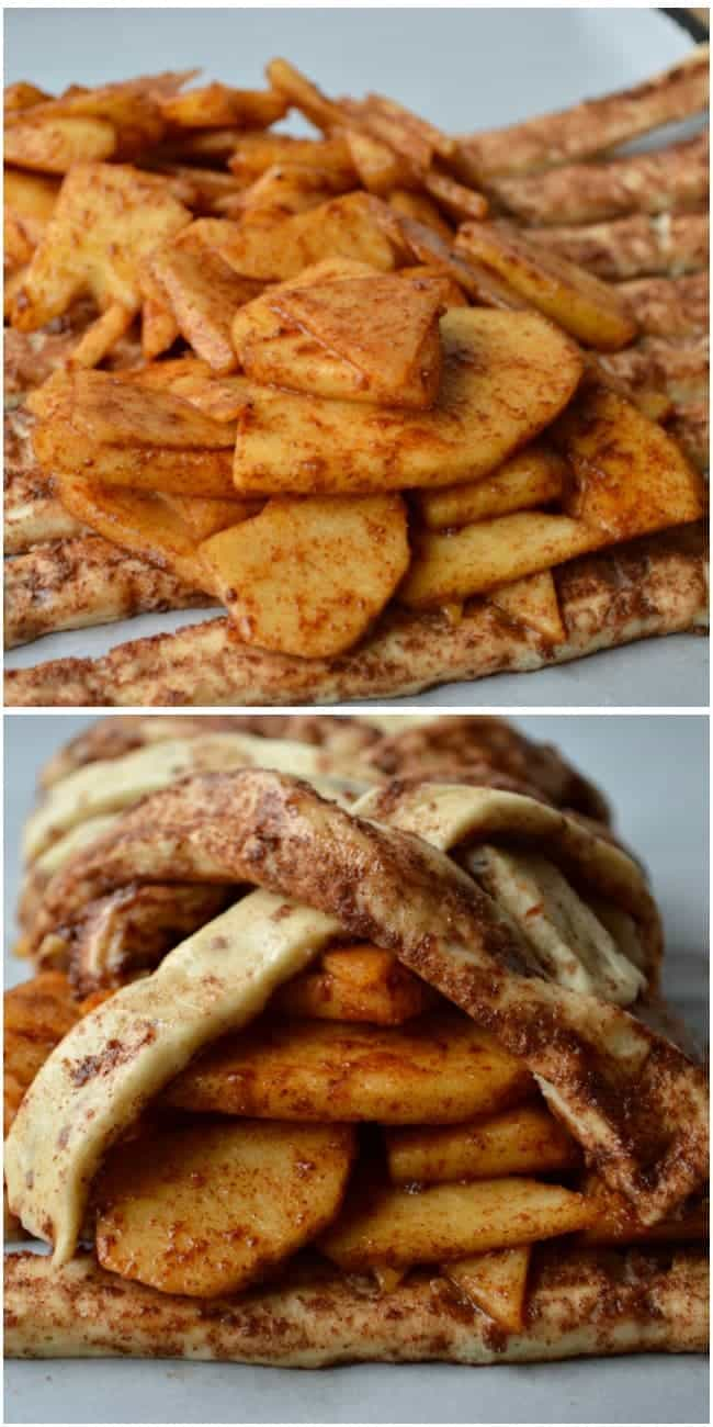 Apple Cinnamon Breakfast Braid