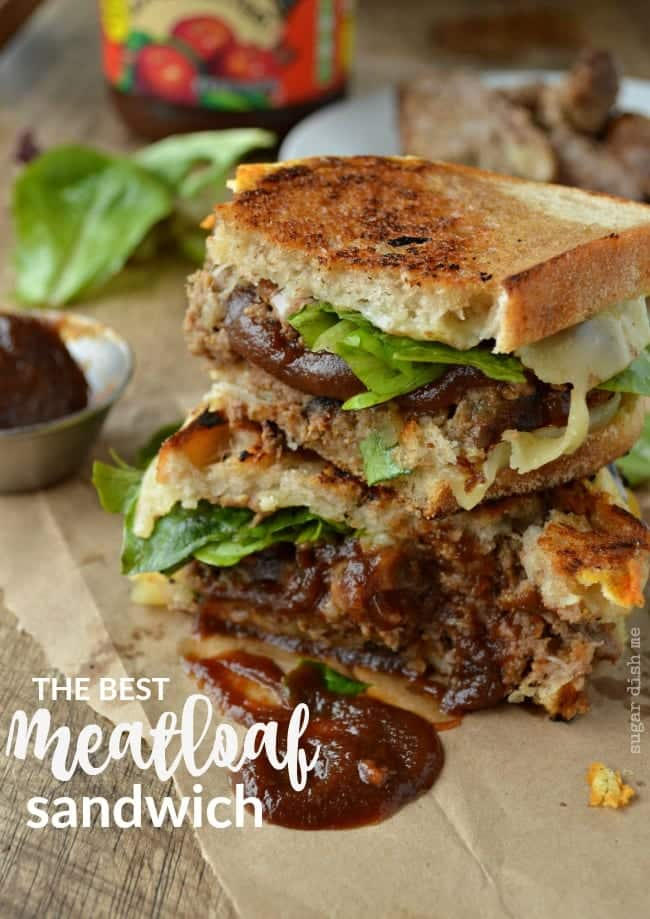 The Best Meatloaf Sandwich