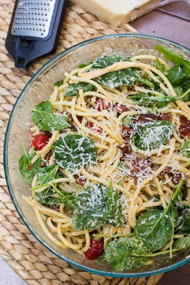 BLT Bucatini Pasta Salad Recipe