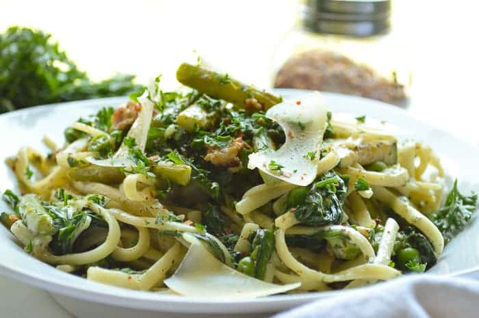 Eat Your Greens Linguine