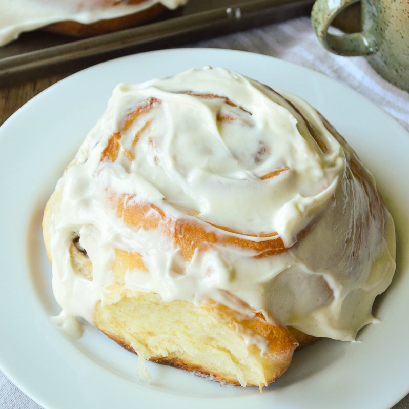 Giant Cinnamon Rolls Recipe