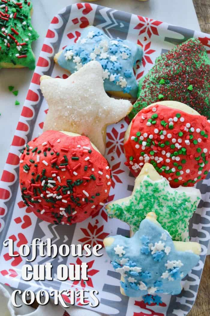 Lofthouse Cut Out Cookies