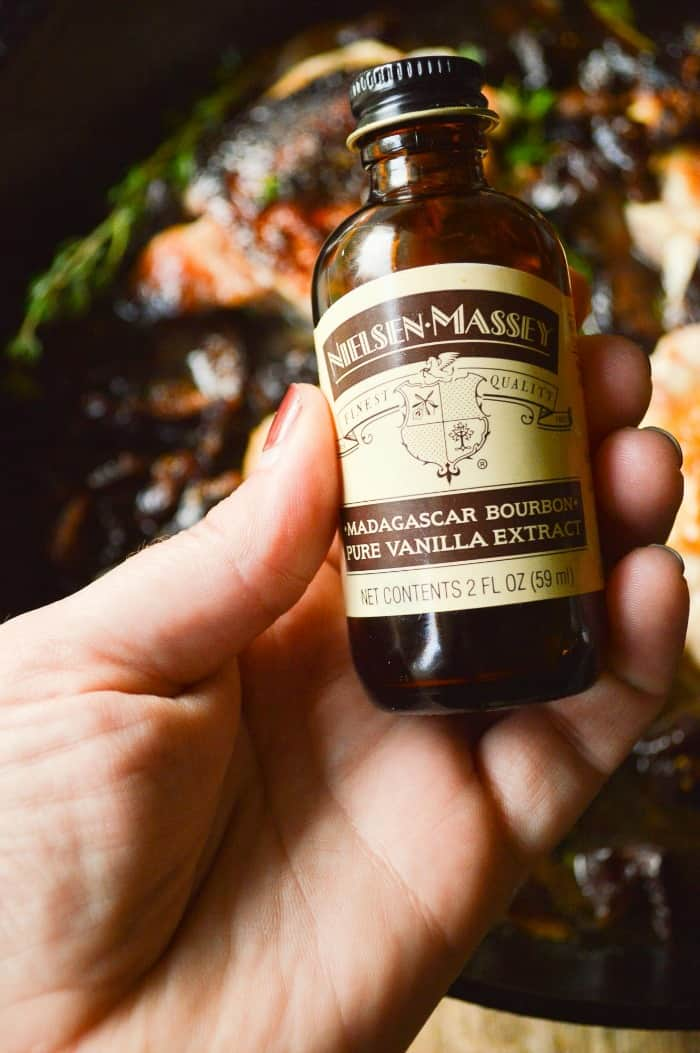 Nielsen-Massey Madagascar Bourbon Pure Vanilla Extract for Feels Fancy Figgy Chicken