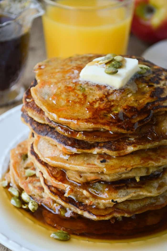 Morning Glory Pancakes Sugar Dish Me