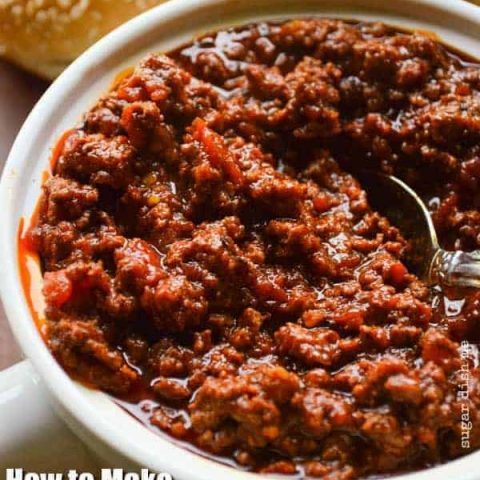 Chili Recipe for Hot Dogs and Hamburgers