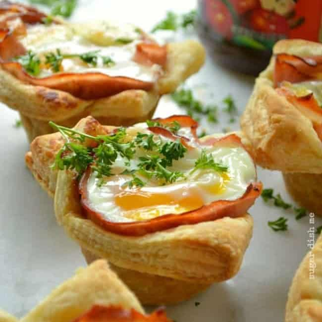 Ham and Egg Brunch Cups