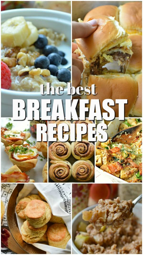 The Best Breakfast Recipes