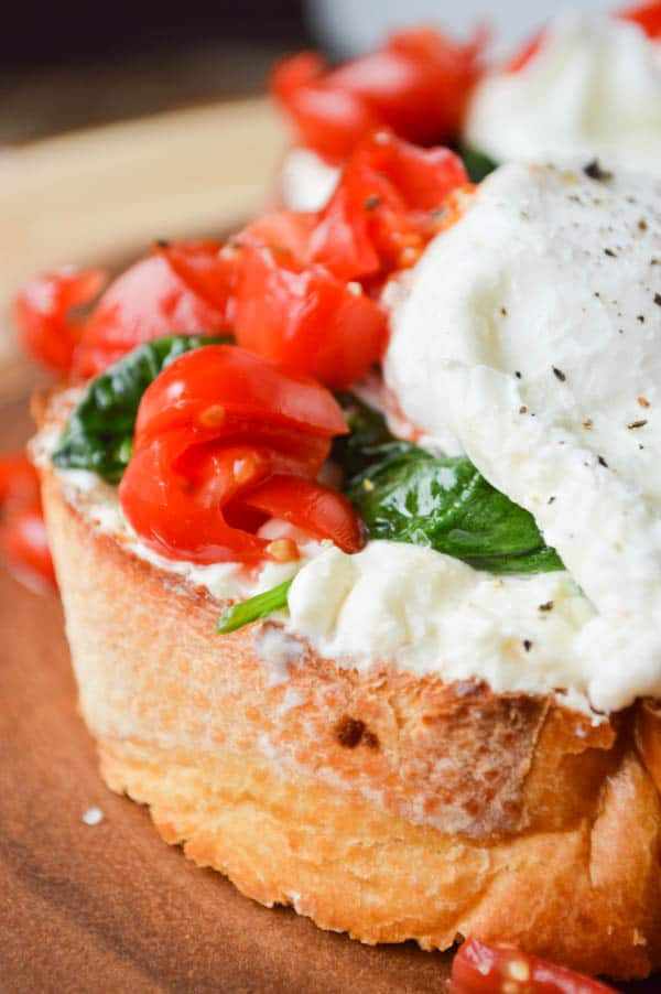 Whipped Feta Breakfast Toasts are a favorite simple savory dish.