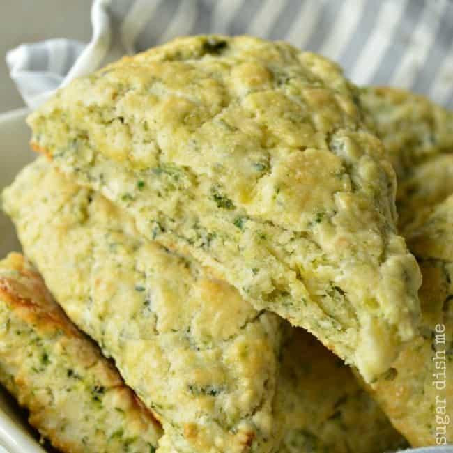 Spinach and Feta Scones
