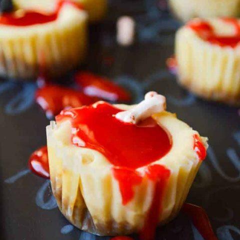 Bloody Good Mini Cheesecakes