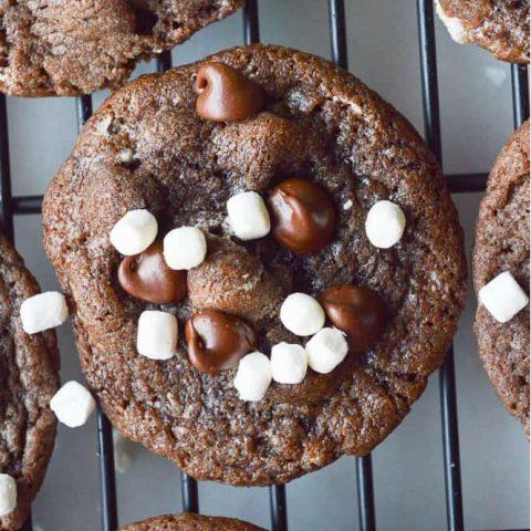 Hot Cocoa Cookies
