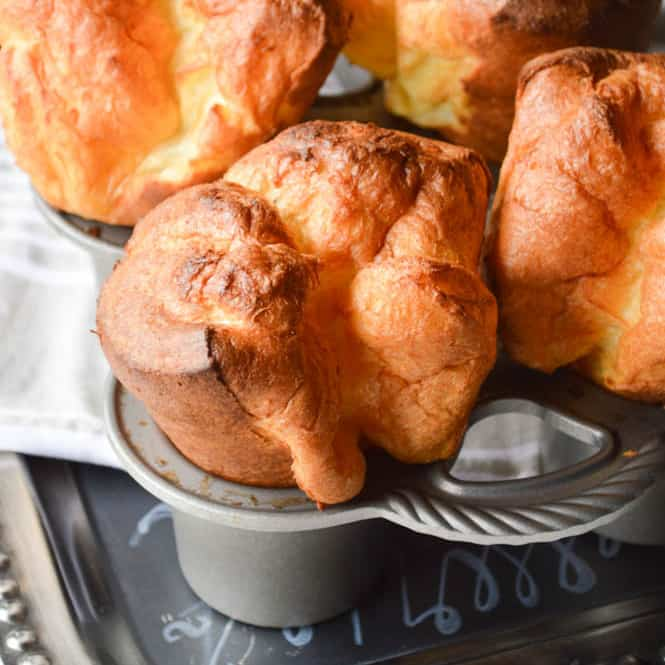 The Biggest Fattest Fluffiest Popover Recipe Sugar Dish Me