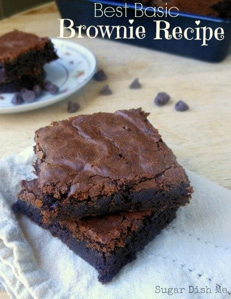 Easy From Scratch Brownies