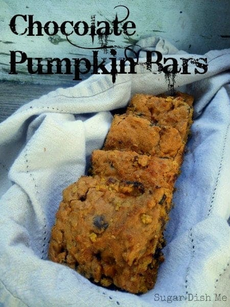 Chocolate Pumpkin Bars