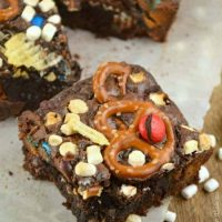 {everything but the} Kitchen Sink Brownies