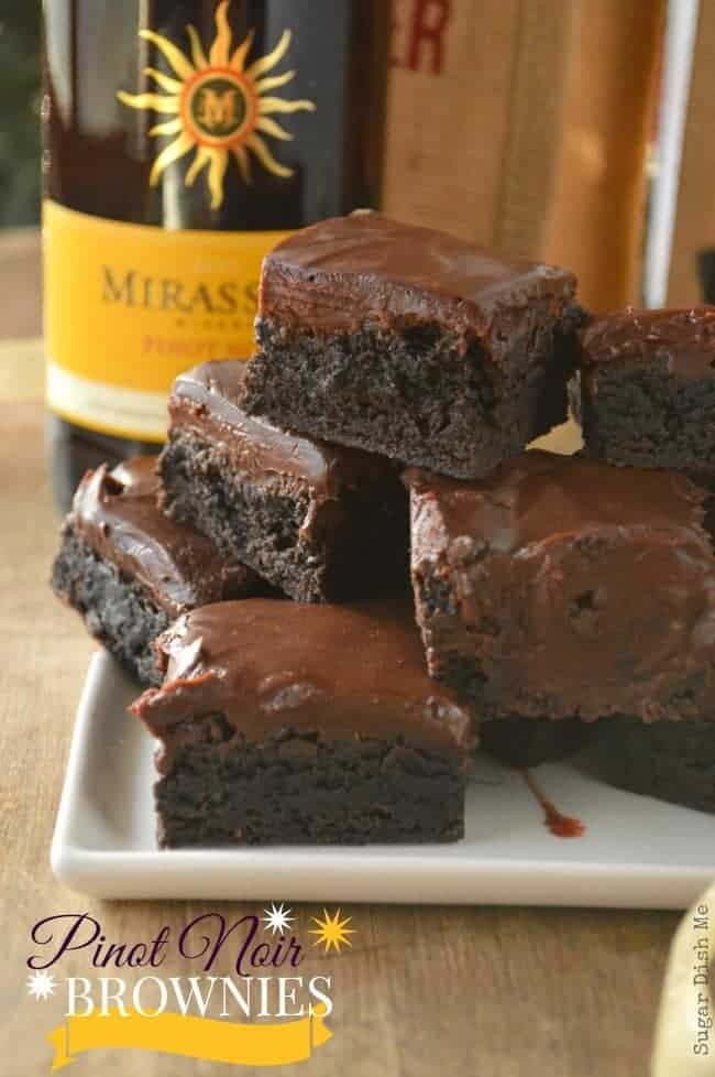 Pinot Noir Brownies