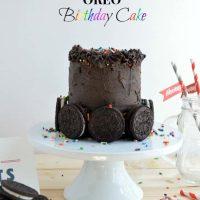 Birthday Cake Oreo Birthday Cake