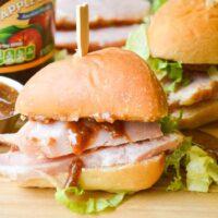 Apple Butter Glazed Ham