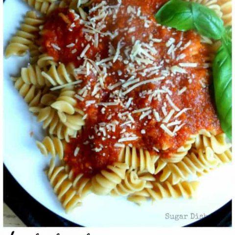 Homemade Fresh Tomato Sauce