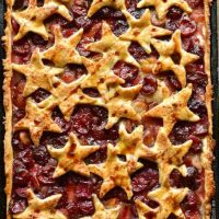 Cherry Cola Slab Pie