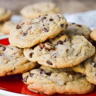 Chocolate Chip Blondie Cookies