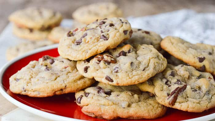 Landscape image of Chocolate Chip Blondie Cookies