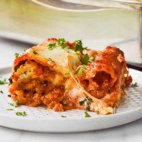 Ground Chicken Lasagna